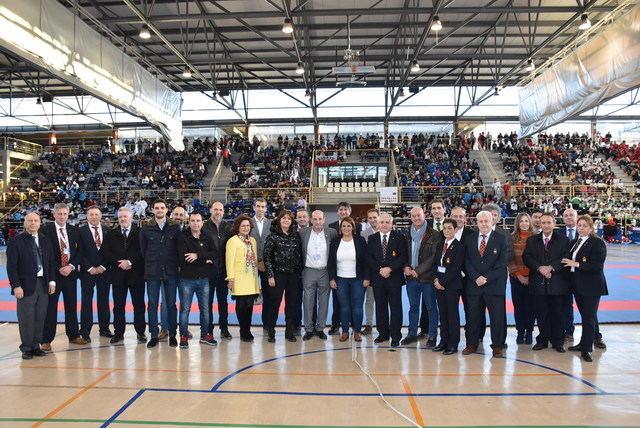 Ceremonia de apertura del Campeonato de España de Karate