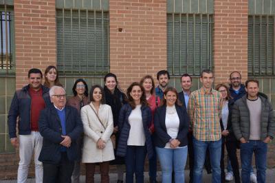 Equipo de la candidatura del PSOE en Talavera de la Reina