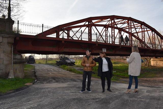 """La pavimentación entre los barrios Puente Romano y El Paredón está """"casi finalizada"""""""