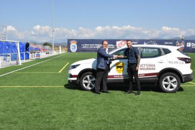 Grupo Vettonia Seguridad, nuevo patrocinador del CD Cazalegas-Ebora Formación