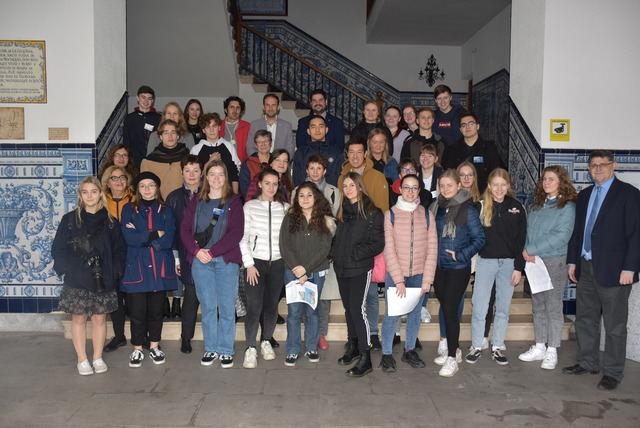 El Ayuntamiento de Talavera recibe a los alumnos del proyecto EUthopia