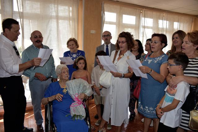 La talaverana Isabel Marrodan Ramallete cumple 100 años