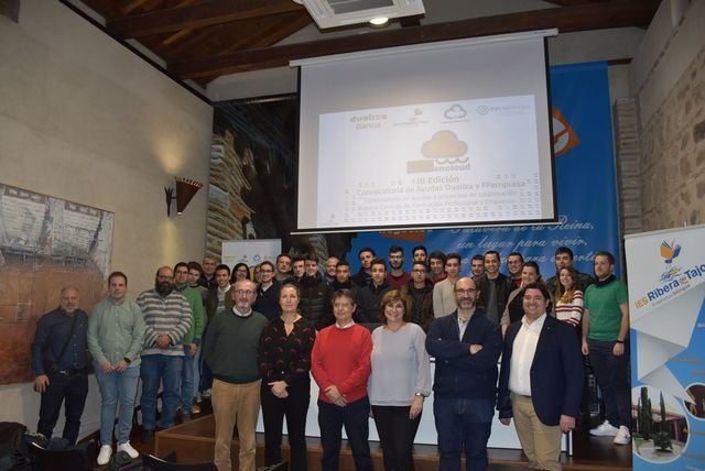 Presentado el proyecto 'RiberaenCloud' del IES Ribera del Tajo