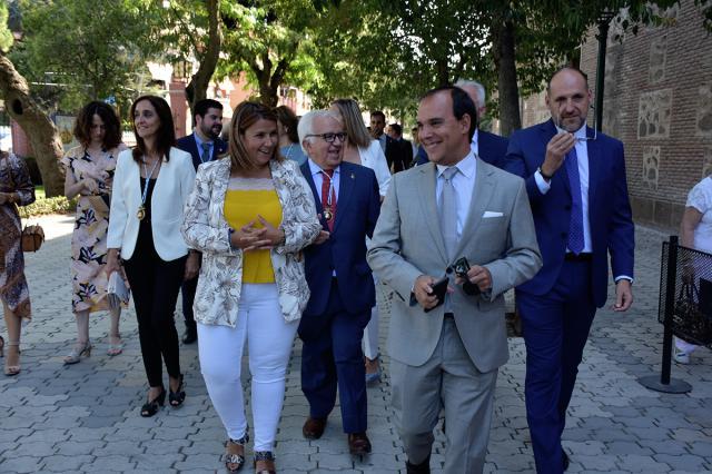 El presidente de las Cortes reclama en Talavera un caudal ecológico con calidad