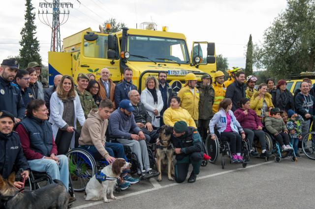 'Sonrisas' en el Hospital de Parapléjicos con motivo del Día Mundial de la Discapacidad