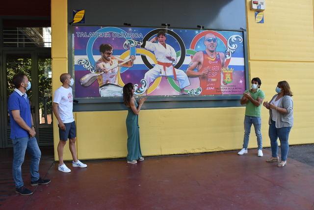 DEPORTES | Homenaje en el JAJE a Sandra, Cubelos y Alarza