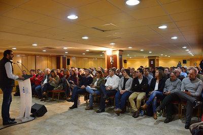 Más de 150 alcaldes y concejales socialistas de la provincia se reúnen en Talavera