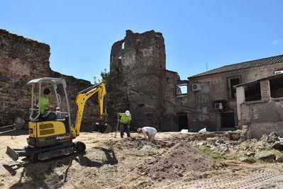 TALAVERA | Comienzan los trabajos arqueológicos para la rehabilitación de la muralla de El Charcón