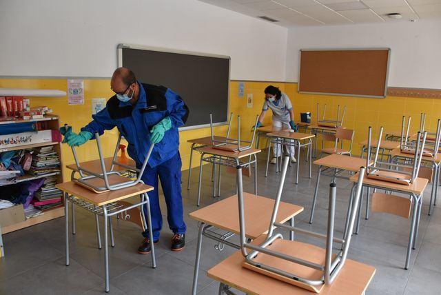 TALAVERA | Inicio de las desinfecciones en los colegios de la ciudad