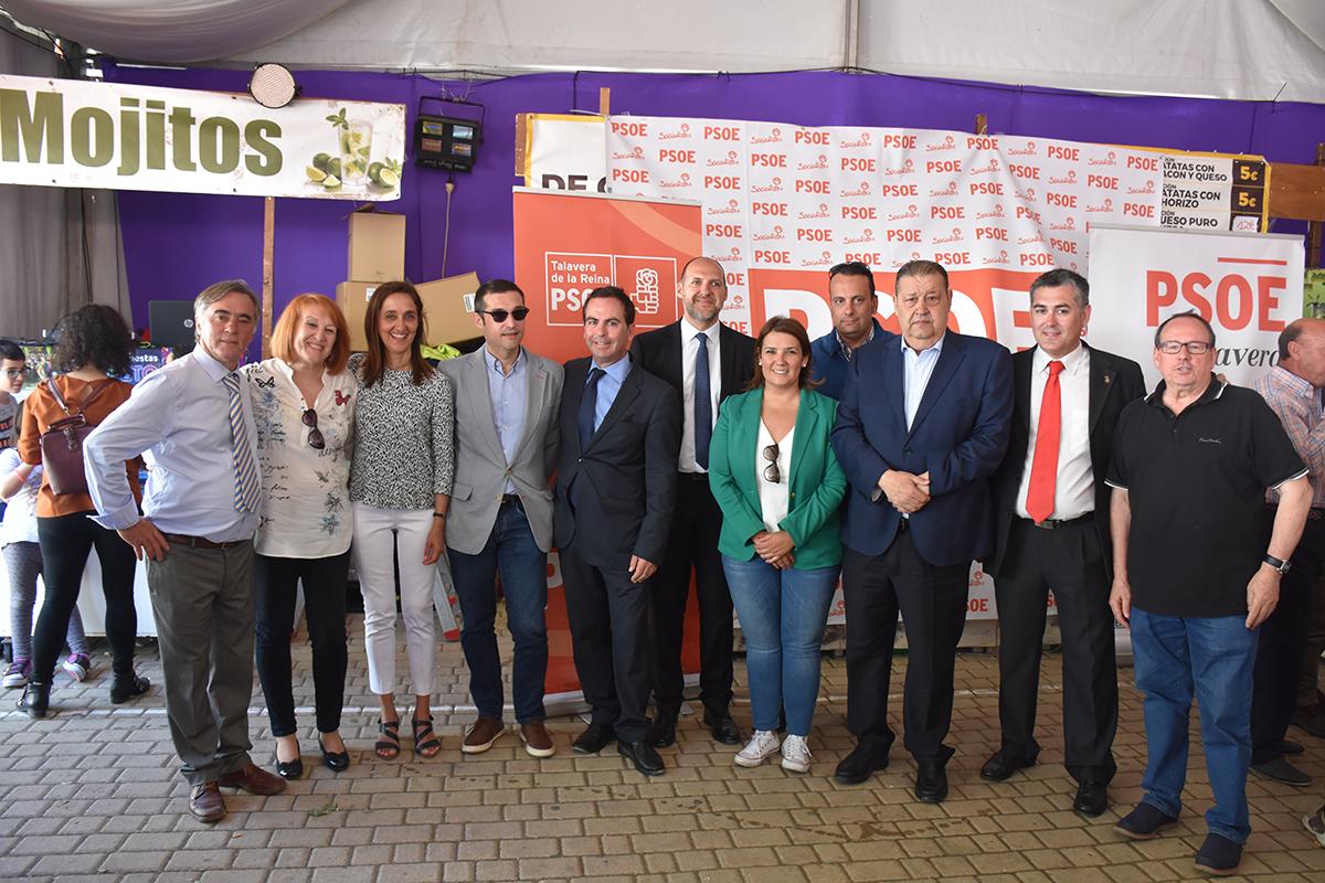 """García pide al PP que """"remen en la misma dirección"""" para ayudar a Talavera"""