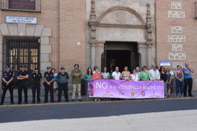 Minuto de silencio por las cinco mujeres asesinadas víctimas de violencia de género en agosto