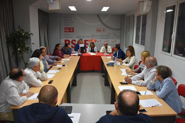 La falta de limpieza o el empleo, temas tratados por la Ejecutiva del PSOE de Talavera