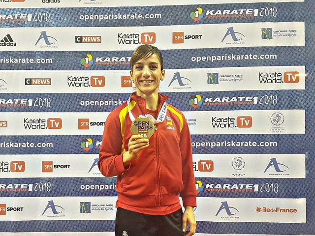 Sandra Sánchez comienza la Liga Mundial con un bronce