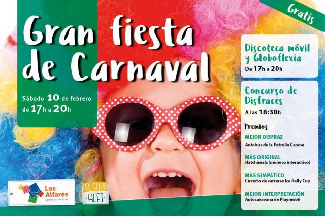 Los Alfares celebra a lo grande el Carnaval 2018
