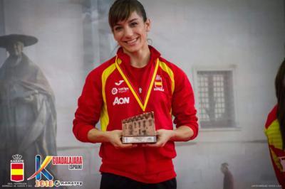 Sandra Sánchez no se cansa de ganar medallas