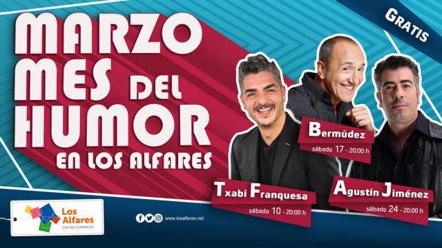 Los Alfares invita a sus visitantes a disfrutar de los mejores monologuistas de la televisión