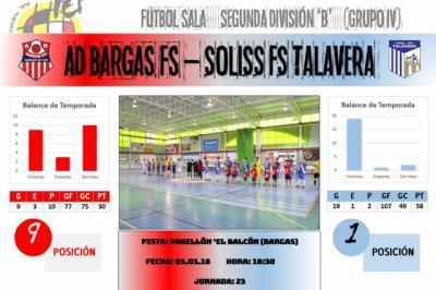 El Soliss FS Talavera, a acabar con su bestia negra