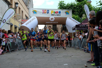 Más de 500 personas participan en la 'VII Carrera Popular 40 de Mayo' en Calera