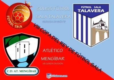 El Atlético Mengíbar será el rival del Soliss FS Talavera en la siguiente ronda de la Copa del Rey