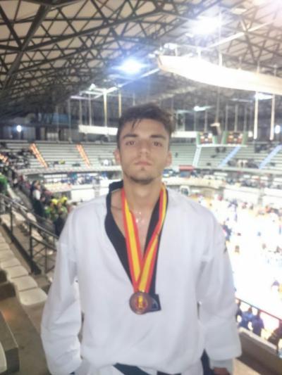 El talaverano Daniel García, medalla de bronce en Campeonato de España de Taekwondo