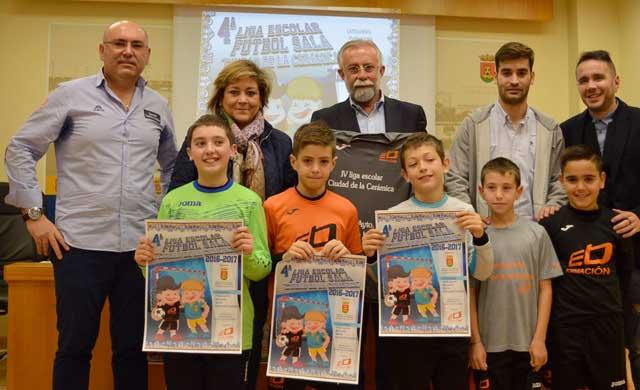 Presentada la IV Liga Escolar de Fútbol Sala de Talavera