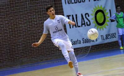 El talaverano David Yáñez busca su plaza en la selección regional de FS