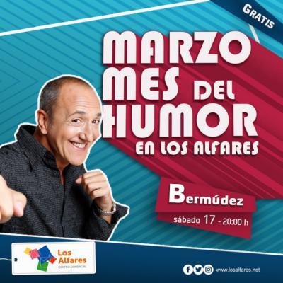 Nuevo monólogo de humor en Los Alfares el sábado 17 de marzo con el televisivo Bermúdez