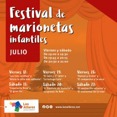 Cuentos populares clásicos en el Festival de Marionetas de Los Alfares