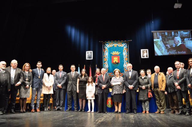 Talavera de la Reina nombra Hijo Predilecto a Julio Mayo