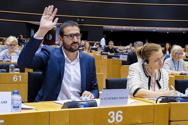 Sergio Gutiérrez pregunta a la Comisión Europea si va a abrir una investigación sobre la depuradora de Escombreras tras el informe de la UDEF