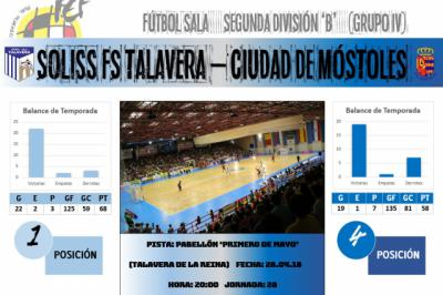 El Soliss FS Talavera a un punto de hacer historia