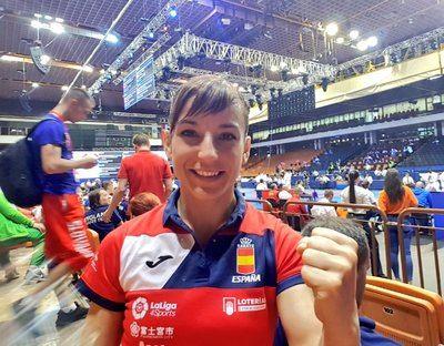 Sandra Sánchez, imparable, luchará por el oro en el Europeo