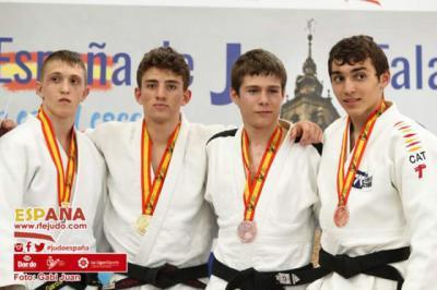 Brillante actuación de los judokas talaveranos en el Campeonato de España