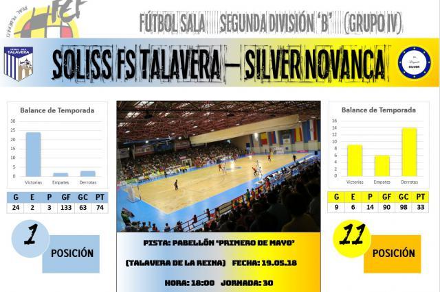 El Soliss FS Talavera afronta su último ensayo antes de encarar el playoff de ascenso