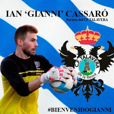 El guardameta 'Gianni', primer fichaje del CF Talavera
