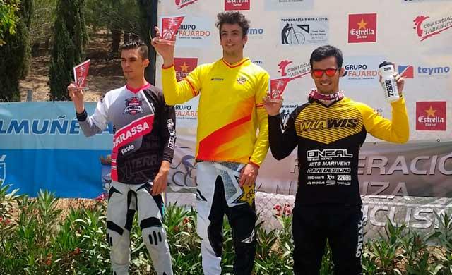 BMX Los Pinos ocupa la tercera posición en la Copa de España