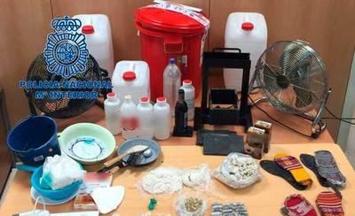 Detenidas 17 personas de una red dedicada al tráfico de drogas