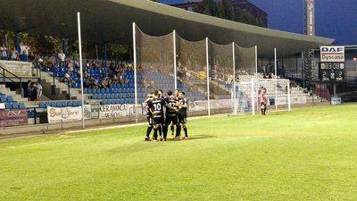 El CF Talavera suma ante el Navalcarnero su primera victoria de la pretemporada