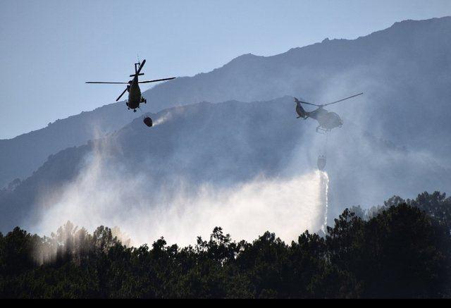 VÍDEO | Así trabaja la BRIF del Puerto del Pico en la extinción de un incendio forestal