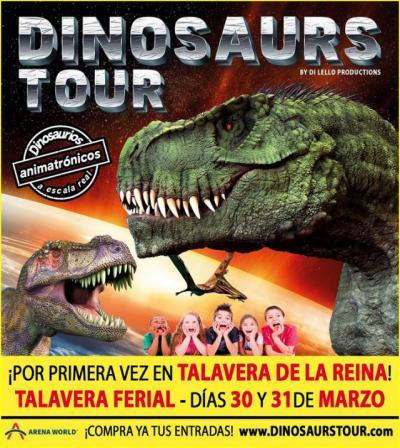 Llega a Talavera la mayor exposición de dinosaurios animatrónicos del mundo