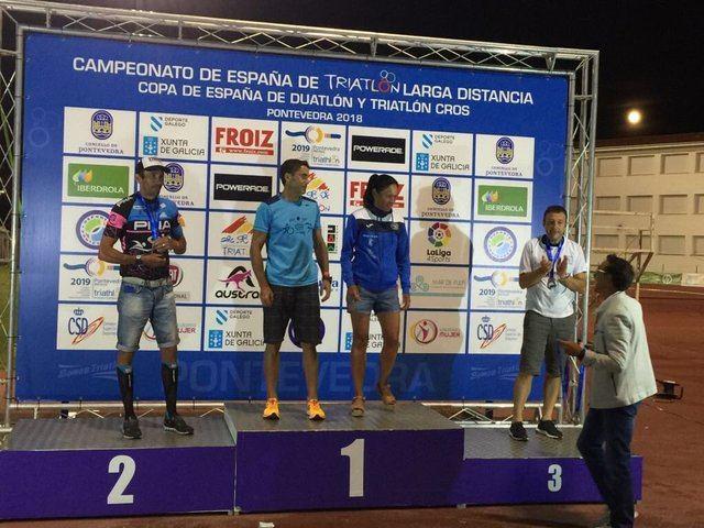 La talaverana Sara Fernández, campeona de España de Triatlón de Larga Distancia