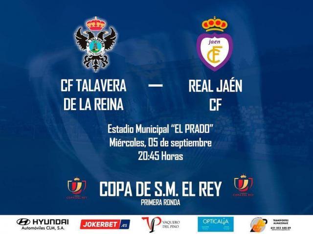 Talavera y Jaén se juegan seguir vivos en la Copa, esta noche en 'El Prado'