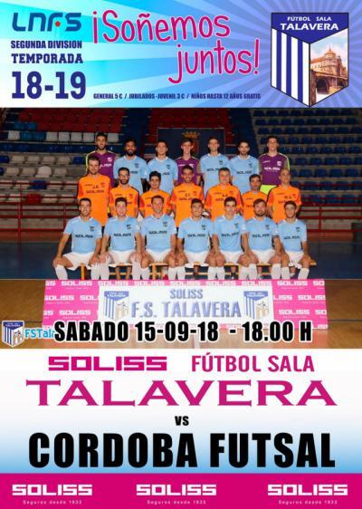 El Soliss FS Talavera se viste de gala para debutar en la Segunda División