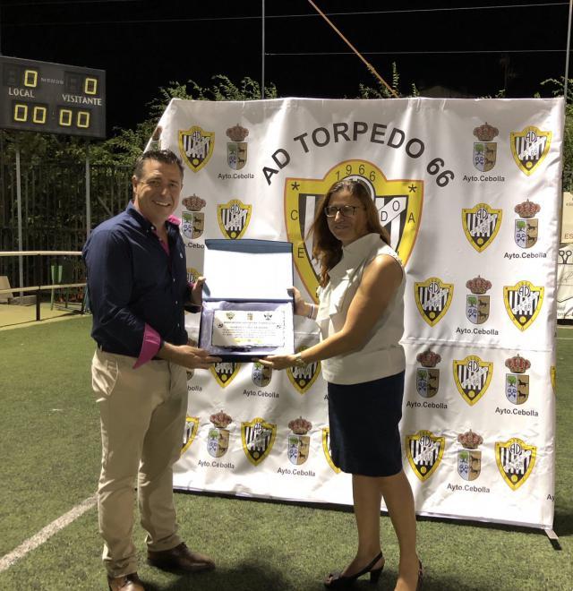 AD Torpedo 66 y CF Talavera jugaron por Cebolla