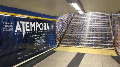 """'aTempora' va """"a todo tren en Madrid"""" y ya brilla en la estación de Sol"""