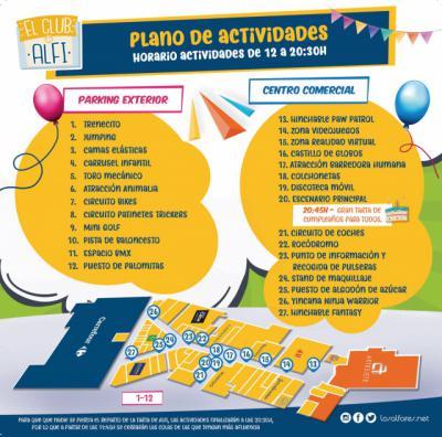 Los Alfares celebra el primer aniversario de su mascota con una gran fiesta infantil