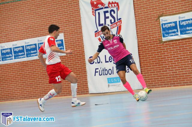 El Soliss FS Talavera se enfrenta este martes al FS Leganés en la Copa del Rey