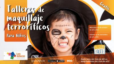 Los Alfares organiza talleres gratuitos de maquillaje infantil para celebrar Halloween