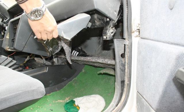 Detenido un vecino de Sese�a con 6.762 dosis de coca�na en su coche