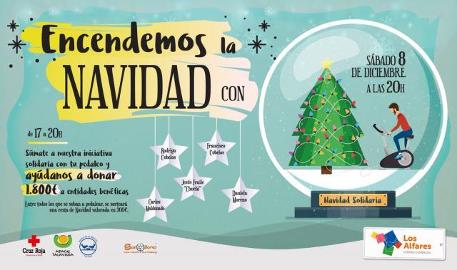 Encendido solidario y con 'estrellas' de Talavera, este sábado en Los Alfares